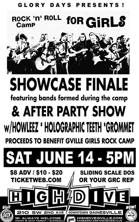 Holographic Teeth, Howleez, Grommet, High dive, Gainesville, Florida, Bands, Music